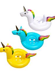 Недорогие -Надувные игрушки и бассейны Плавающие кольца единорог Креатив обожаемый ПВХ / винил Детские Универсальные Игрушки Подарок 1 pcs