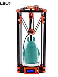 abordables -Flsun-a2 bricolage 3d imprimante kit d'impression taille 180 * 180 * 300mm nivellement automatique delta 3d imprimante lit chauffé