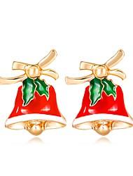 Недорогие -Жен. 3D Серьги-гвоздики - Классика, Мода Цвет радуги Назначение Рождество Новый год