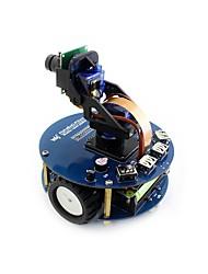 baratos -alphabot2-pizero wh (en) alphabot2 robô kit de construção para framboesa pi zero wh (built-in wifi cabeçalhos pré-soldadas)