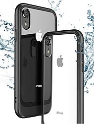 Недорогие -Кейс для Назначение Apple iPhone XR / iPhone XS Max Ультратонкий / Прозрачный Кейс на заднюю панель Однотонный Твердый ПК для iPhone XS / iPhone XR / iPhone XS Max