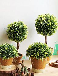 billige -Kunstige blomster 1 Afdeling Klassisk / Enkel Retrorød / pastorale stil Planter / Vase Bordblomst
