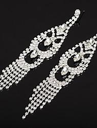 abordables -Boucle d'Oreille Pendantes Femme Zircon cubique Classique Gland Bijoux Or Argent Adorable pour Mariage Soirée 1 paire