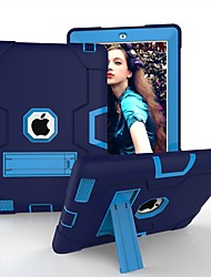 billiga -Cooho fodral Till Apple iPad (2018) / iPad Air 2 / iPad (2017) Stötsäker / Dammtät / Vattenavvisande Fodral Geometriska mönster Hårt Silikon / PC för iPad Air / iPad 4/3/2 / iPad (2018)