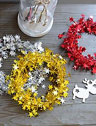 baratos -Decorações de férias Ano Novo / Decorações Natalinas Natal Festa / Decorativa Vermelho / Verde / Azul 1pç