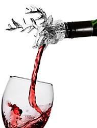 Недорогие -рождественский олень голова вино вылить бутылка пробка пиво олень олень вино пробка аэратор барная посуда