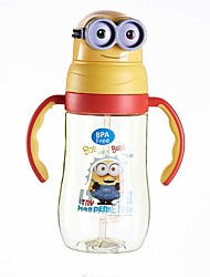 Недорогие -Drinkware Соломинки / Водный горшок и чайник Пластик / Полипропилен + ABS Компактность / Мини / Мультфильмы Подарок / На каждый день
