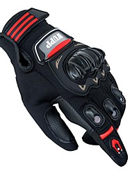 Недорогие -Полныйпалец Все Мотоцикл перчатки Кожа / ПВХ (поливинилхлорида) / Сетчатый материал Сенсорный экран / Дышащий / Защитный