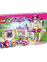 Недорогие -Взаимосоединяющиеся блоки Фокусная игрушка Веселая 734 pcs Куски Детские Взрослые Все Игрушки Подарок