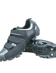 Недорогие -SIDEBIKE Взрослые Обувь для горного велосипеда Дышащий, Противозаносный, Амортизация Велосипедный спорт / Велоспорт / Для велоспорта Серый Муж. Обувь для велоспорта / Вентиляция / Вентиляция