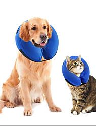 baratos -Cachorros / Gatos Saúde Portátil / Bonitinho e fofinho / Casual Sólido Tecido Felpudo / Felpudo Azul
