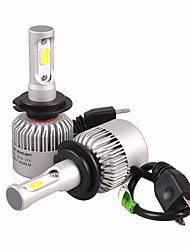 Недорогие -NIGHTEYE H7 Лампы 72 W COB 9000 lm Светодиодная лампа Налобный фонарь