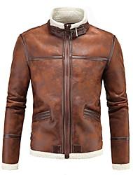 Недорогие -AOWOFS D042 Одежда для мотоциклов Жакет для Муж. Кожа PU Весна & осень / Зима Износостойкий / Защита