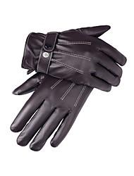 Недорогие -Полныйпалец Муж. Мотоцикл перчатки Кожа Сохраняет тепло / Защитный