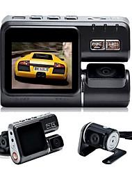Недорогие -X6 1080p Автомобильный видеорегистратор Широкий угол 2 дюймовый Капюшон с Обноружение движения 4 инфракрасных LED Автомобильный рекордер / 2.0