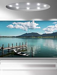 abordables -fond d'écran / Mural Toile Revêtement - adhésif requis Arbres / Feuilles / Lignes / Vagues / 3D