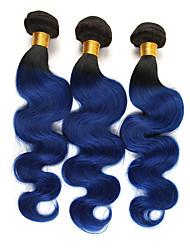 Недорогие -3 Связки Бразильские волосы Естественные кудри 10A человеческие волосы Remy Накладки из натуральных волос 10-26 дюймовый Ткет человеческих волос Мягкость Лучшее качество Новое поступление