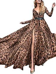Недорогие -Жен. Классический С летящей юбкой Платье Ассиметричное