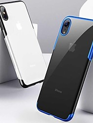 billige -Etui Til Apple iPhone XR / iPhone XS Max Støtsikker / Belegg / Ultratynn Bakdeksel Ensfarget Myk TPU til iPhone XS / iPhone XR / iPhone XS Max