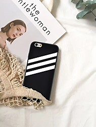 Недорогие -Кейс для Назначение Apple iPhone XR / iPhone XS Max С узором Кейс на заднюю панель Полосы / волосы Мягкий ТПУ для iPhone XS / iPhone XR / iPhone XS Max
