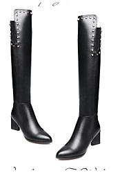 Недорогие -sw 5050 женские наппа кожаные сапоги гетеротипичные каблуки закрытые носки коленные сапоги черные