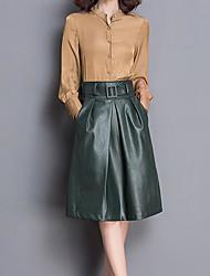 povoljno -Žene Osnovni Set - Jednobojni Suknja