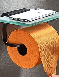 Недорогие -Держатель для туалетной бумаги Новый дизайн / Cool Modern стекло / Металл 1шт На стену