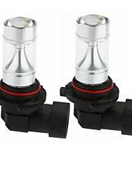 baratos -Sencart 2 pcs 9005 30 w 6x3535 vermelho / amarelo / branco frio super brilhante feixe de lâmpadas led farol ac / dc 12-24 v