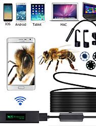 Недорогие -8 мм водонепроницаемый беспроводной wifi эндоскоп камера инспекция 2000 мм
