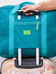baratos -Moda bolsa de viagem à prova d 'água unissex bolsas de viagem mulheres bagagem viagem sacos de dobramento