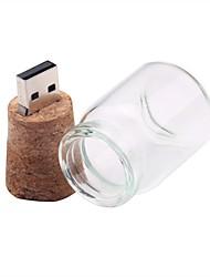 Недорогие -16 Гб флешка диск USB USB 2.0 стекло Необычные Беспроводной диск памяти