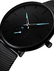 Недорогие -Муж. Наручные часы Японский Кварцевый Черный Секундомер Очаровательный Творчество Аналоговый Кольцеобразный Мода - Черный Красный Синий Два года Срок службы батареи