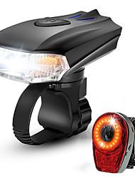 baratos -Luz Frontal para Bicicleta LED Luzes de Bicicleta Ciclismo Impermeável, Portátil, Libertação Rápida Bateria Li-on Recarregável 1000 lm Potência Recarregável Ciclismo