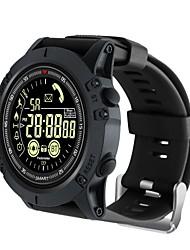 baratos -KUPENG EX17S Relógio inteligente Android iOS Bluetooth Esportivo Impermeável Calorias Queimadas Suspensão Longa Podômetro Aviso de Chamada Monitor de Atividade Monitor de Sono Lembrete sedentária