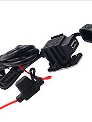 Недорогие -LOSSMANN Автомобильное зарядное устройство Зарядное устройство USB Универсальный / USB Нормальная 1 USB порт 2.1 A DC 12V-24V / DC 5V для Универсальный