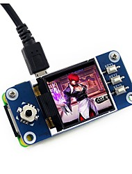 Недорогие -wavehare 128x128 1.44inch lcd дисплей шляпа для малины pi