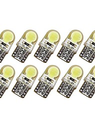 billiga -10pcs T10 Bilar Glödlampor 1 W COB 50-100 lm 6 LED Blinkers Till General Motors Universell