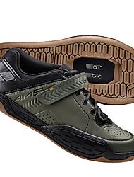 Недорогие -Обувь для горного велосипеда Нейлон, стекловолокно, воздушное отверстие,противоскользящие протекторы Амортизация Вентиляция Велосипедный спорт / Велоспорт Для велоспорта Черный Военно-зеленный