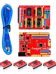 Недорогие -3d kit (3dv3red доска для четырех частей 498830см прозрачной синей линии USB)