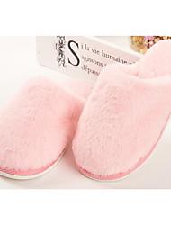 billiga -Flickor Skor Imitationspäls Höst vinter Komfort / Fur Foder Tofflor och flip-flops för Barn Purpur / Rosa