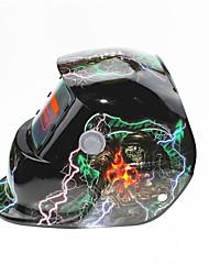 Недорогие -солнечный автомат потемнения сварочный шлем 107 волшебник