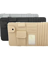 Недорогие -де ран фу затенение автомобиля козырек бумаги инструмент клип слот для карты 4 цвет личи шаблон высокоскоростной / газовая карта