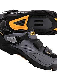 Недорогие -Взрослые Обувь для горного велосипеда Нейлон, стекловолокно, воздушное отверстие,противоскользящие протекторы Дышащий Амортизация Вентиляция Велосипедный спорт / Велоспорт Для велоспорта