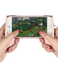 Недорогие -ZJ09 Комплекты игровых контроллеров / Кронштейн ручки Назначение Android / iOS ,  Комплекты игровых контроллеров / Кронштейн ручки ПВХ 1 pcs Ед. изм