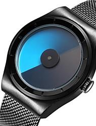 Недорогие -Для пары Спортивные часы Наручные часы Японский Кварцевый Черный / Серебристый металл / Розовое золото 30 m Защита от влаги Календарь Повседневные часы Аналоговый На каждый день Мода -