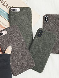 billige -Etui Til Apple iPhone XR / iPhone XS Max Syrematteret Bagcover Ensfarvet Blødt TPU for iPhone XS / iPhone XR / iPhone XS Max