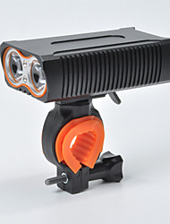 baratos -Luz Frontal para Bicicleta LED Luzes de Bicicleta Ciclismo Impermeável, Portátil 18650.0 1600 lm 18650 Branco Campismo / Escursão / Espeleologismo / Ciclismo