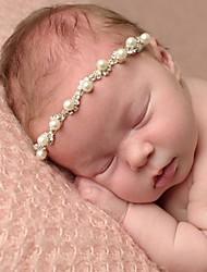 abordables -Bébé Unisexe Actif Couleur Pleine Accessoires Cheveux Blanc Taille unique