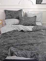 cheap -Duvet Cover Sets Floral Polyster Embossed 4 PieceBedding Sets