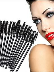 Недорогие -профессиональный Кисти для макияжа 50шт Экологичные Для профессионалов Синтетические волосы Пластик за Косметическая кисточка Кисть для бровей